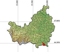 Vị trí của Calarasi