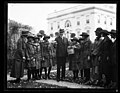 Calvin Coolidge and Girl Scouts at White House, Washington, D.C. LCCN2016892722.jpg