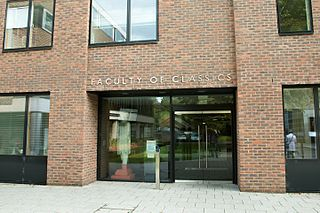 Faculty of Classics, University of Cambridge