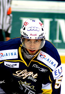 Cami Miettinen of the Espoo Blues - 20090820.jpg