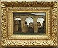 Camille corot, il colosseo, veduta attraverso le arcate della basilica di costantino, a roma, 1825.jpg