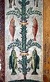 Camillo mantovano, resti di affreschi della sala di psiche con candelabre vegetali che sorreggono cacciagione e pesci, 1538-39 ca. 09.jpg