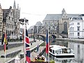 Canal, Gent, Belgium. - panoramio.jpg
