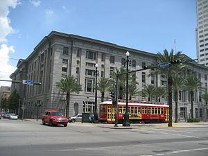 United States Custom House (New Orleans) - The Custom House in 2009