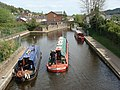 Canal barge on a pleasure outing - geograph.org.uk - 1284771.jpg