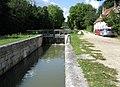 Canal d'Orléans, écluse de Rougemont. Chailly-en-Gâtinais, France. - panoramio.jpg