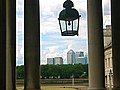 Canary Wharf from Old Naval Royal College, Greenwich, London. - panoramio - Pastor Sam.jpg