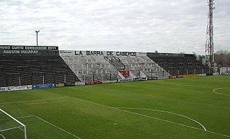 Estadio Ciudad de Caseros - Image: Cancha de estudiantes