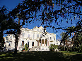 Villa rothschild cannes wikip dia for Cannes piscine municipale