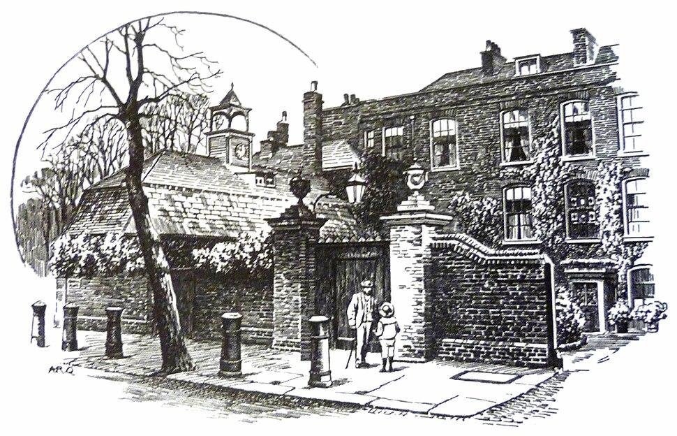 Cannon Hall, A.R. Quinton, 1911