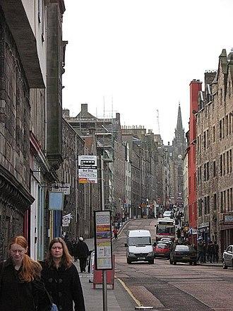 Ainslie Tavern Bond - Ainslie's tavern was located in Edinburgh's Canongate