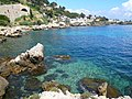 Cap d'Ail and its blue waters - panoramio.jpg