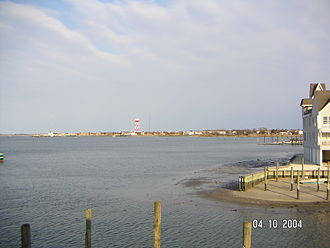 Cape May, New Jersey - Cape May Harbor as seen from Devil's Reach.