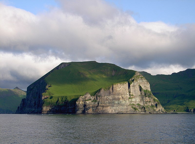 Cape Promontory Cape Lutkes, Alaska. Cape Lutkes is part of the Aleutian Islands.JPG