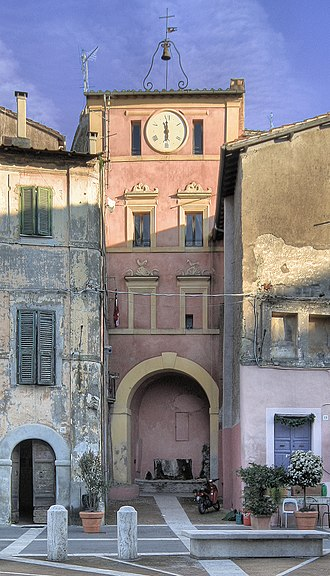 Capena - 16th-century clock tower