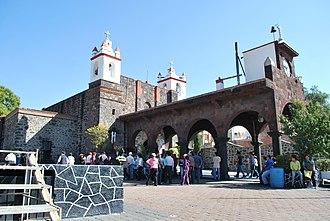 Pueblo Culhuacán - Chapel of the Señor del Calvario