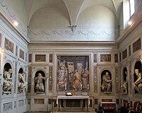 Cappella della compagnia di s. luca, int, 01.JPG