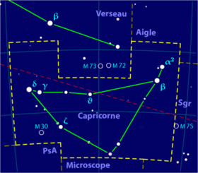 Image illustrative de l'article Capricorne (constellation)