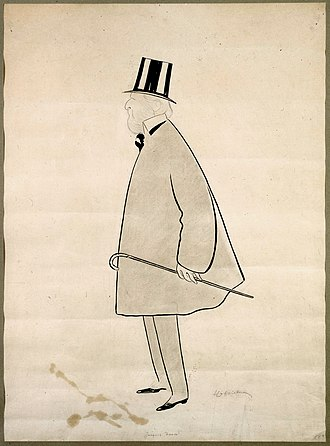 Jacques Doucet (fashion designer) - Jacques Doucet in 1903, by Leonetto Cappiello