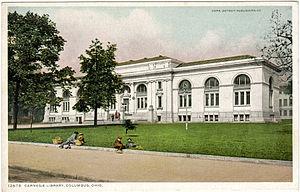 Columbus Metropolitan Library - Image: Carnegie Library, Columbus, Ohio (Postcard)
