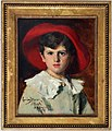 Carolus-duran, bambino con cappello rosso (michel, figlio di georges feydeau), 1905.jpg