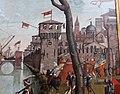Carpaccio, storie di s.orsola 07, Arrivo dei pellegrini a Colonia, 1490, 05.JPG