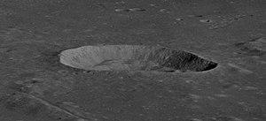 Carrel (crater) - Image: Carrel crater as 10 31 4599