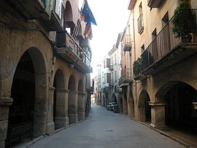 Carrer Major (Juneda).JPG