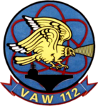 Carrier Airborne Early Warning Squadron 112 (US Navy) insignia c1974.png