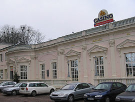 The Casino du Nivernais, in Pougues-les-Eaux