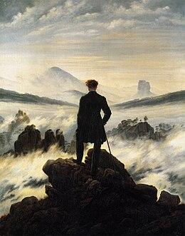 Viandante sul mare di nebbia wikipedia - Sopra un mare di specchi si vola ...