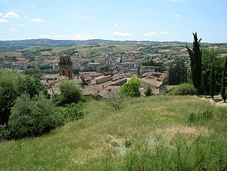 Castelfiorentino - Image: Castelfiorentino, veduta