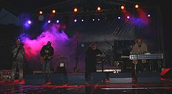 The Legendary Pink Dots auf der Castle Party in Polen (2007)