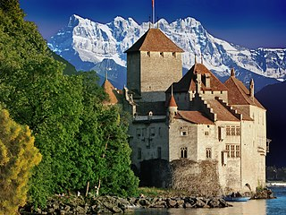 Chillon Castle castle in Switzerland