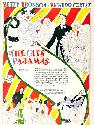 The Cat's Pajamas - Ad for the film