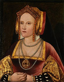 Portrait von Catherine Parr in Lambeth Palace