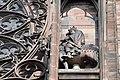Cathédrale de Strasbourg, façade, statue équestre de Rodolphe de Habsbourg.jpg