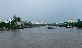 Cau Tan thuan nhin tu Song Saigon , vn - panoramio.jpg
