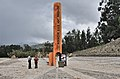 Cayambe Equator monument 01.jpg