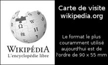 Carte De Visite Exemple Au Format Courant