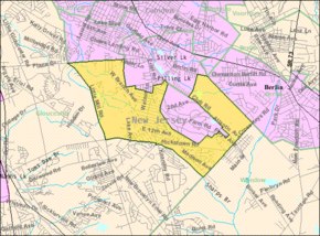 Census Bureau map of Pine Hill, New Jersey.png