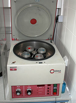 Laboratory centrifuge - Wikipedia, the free encyclopedia