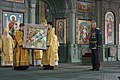 Ceremony of consecration of the Main temple 07.jpg