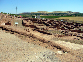Oretani - Arqueological site of Cerro de las Cabezas, Valdepeñas