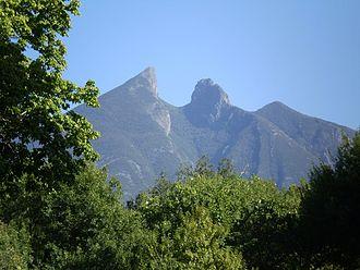 Cumbres de Monterrey National Park - El Cerro de la Silla is the most famous part of the national park