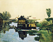Cezanne - Boathouse on a River.jpg