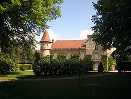 The château of the village of Saint-Romain-Lachalm