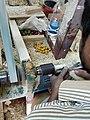 Channapatna artist making toy.jpg