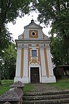 Chapel in Dobrá Voda, Mladoňovice, Třebíč District.JPG