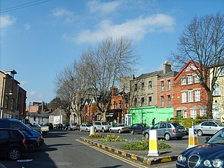 Chapelizod Northside village suburb of Dublin city, Ireland
